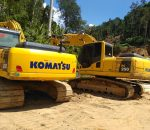 Hasil Operasi Polda Sulut, Sejumlah Eksavator di Police Line Lokasi Potolo, Hilang