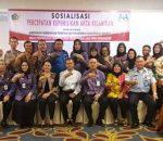 Dinas P3A Kota Kotamobagu, Sukses Gelar Sosialisasi Akta Anak