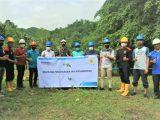 PLN UP3 Kotamobagu Bersama Pemkab dan DPRD Bolmong Giat Penghijauan