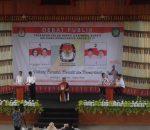 KPU Bolmong  Gelar Debat Kandidat Putaran Pertama