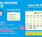 "Diknas Kotamobagu : Jadwal UNBK Tingkat SMP/MTs : 22 -25 April, UNBK Susulan : 29-30 April"""