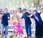 KPU Bolmong Ikut Berpartisipasi Dalam Karnaval Kemerdekaan, Sekaligus Sosialisasi Pilkada