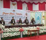 KPU Kotamobagu Ungkapan Terimakasih Terselenggaranya Pleno Nomor Urut Paslon