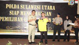 900 Personil Polda Sulut Ikut Pembakalan Pam Pemilu 2019, di Hotel Peninsula