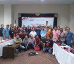 Dihadiri Wartawan se-Sulut, Sosialisasi Piala Presiden, Sukses Digelar di Hotel Aryaduta Manado