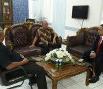 Kunker Ketua Komite 1 DPD RI diterima Resmi oleh Pjs.Walikota Kotamobagu