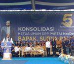Pidato Tokoh Restorasi Indonesia, Pukau 5000-an Warga Bolmong Raya