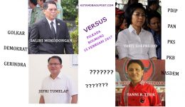SBM JiTu vs YaYa, Resmi Bertarung di Pilkada Bolmong