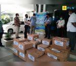 PLN Bersama BUMN di Sulut Serahkan Bantuan ke RSU Prof Kandow