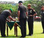 Pangdam XIII Merdeka Mayjen TNI Ganip Warsito, Gelar Sertijab DanYon Armed 19 Bogani
