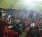 Warga Mopusi Kecamatan Lolayan, Sambut Yasti-Yanni