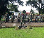4 April, TNI Gelar Pergeseran Pasukan ke Kabupaten Bolmong