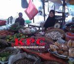 Harga Cabai Pasar Serasi Kotamobagu, Turun Drastis