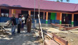 Pembangunan Enam RKB SDN 1 Biga, Capai 75 Persen