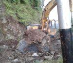 BPPD Bolmong Tangani 3 Kali Bencana Longsor di Poigar