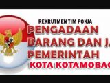 Siap-siap ASN Kotamobagu Bersertifikat 'Lelang', Direkrut Masuk Tim Pokja PJB