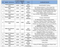 Pemadam Terjadwal 03-13 Februari 2020, Dalam RangkaPerbaikan Konstruksi Jaringan Listrik