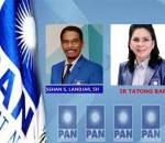 Menakar Elektabilitas Tatong Bara Vs Sehan Landjar, Bursa Perebutan Ketua DPW PAN Sulut