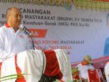 Pjs Walikota Rudi Mokoginta, Buka Pelaksanaan BBRGM Ke-15 Tahun 2018