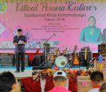 Pemkot Kotamobagu with TP PKK Menggelar Festival Pesona Kuliner