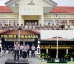 Kapolres Bolmong, Talaud dan Minahasa Kena Mutasi, Ini Nama Tiga Kapolres Baru