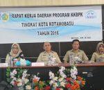 Raker KKBP, Walikota Kotamobagu Evaluasi Pencapaian Program