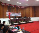 DPRD Gelar Rapat Paripurna Tingkat I, LKPD 2016 Walikota Kotamobagu