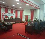 Tatong Bara dan Djelantik Mokodompit Teken Perda RPJP 2005-2025