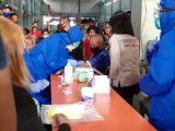 "Dinkes Kotamobagu : ""Terimakasih Pedagang Pasar 23 Maret Telah Mengikuti Rapid Test """