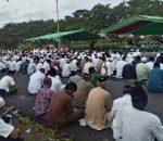 Ribuan Warga Bolmong, Panjatkan Doa Untuk Bupati Yasti