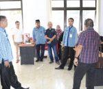 Sekda Kotamobagu Tinjau Pembangunan Gedung Data Center