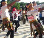 Senam Goyang Kotamobagu Meriahkan Hari Anak Nasional2018