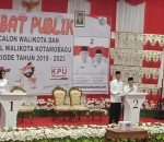 KPU Kotamobagu Sukses Gelar Tahapan Debat Calon Putaran I