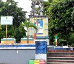 Gambar Bupati MMS Sempat Dihapus, Walikota Tatong Bara Lestarikan Tugu Pemekaran Bolmong Raya
