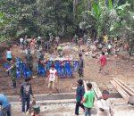 Semangat Manunggal Rakyat, TNI Dirikan Pos Polisi, Pos Babinsa dan Pos Pemerintah Desa di Lokasi TMMD Ke-98