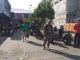 Pasar 23 MaretTerus Dijaga Ketat Petugas Polisi Pamong Praja