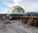 Pemkot Masih Optimis Masjid Raya Selesai Tepat Waktu