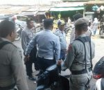 Dibackup Polisi, Pol PP dan Dishub Tertibkan Pedagang Ruas Badan Jalan Komplek Pasar Serasi dan Pasar 23 Maret