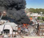 Ledakan Saluran Gas, Guncang Kota Durham North Carolina