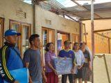 21 Rumah dan 1 Gereja di Kelurahan Tumobui Jadi Korban Angin Ribut