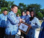 Nayodo Koerniawan Pimpin Upacara Peringatan Hari Peduli Sampah Nasional Tahun 2019