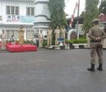 Walikota Tatong, Pimpin Apel Perdana Pasca Idul Fitri