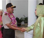 Walikota Tatong Bara Apreseasi Kunker Waka Polda Sulut di Kotamobagu
