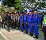 Apel Pam Lilin Samrat 2017 Polres Bolmong, Walikota Kotamobagu Bacakan Amanat Kapolri