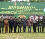 Walikota Tatong Bara, Bangga Kotamobagu Jadi Tuan Rumah Peringatan Hari Infantri TNI AD