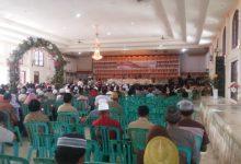 Walikota Kotamobagu Ir Tatong Bara memimpin silahturahmi antar petugas agama se kota kotamobagu