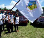 Walikota Kotamobagu Lepas Simbolis Pendistribusian Beras Sejahtera 2017
