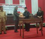 RPJP 2005-2025 Disahkan Jadi Perda Walikota Tatong Bara, Ucapkan Terimakasih Kepada DPRD Kotamobagu