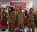Via Teleconfrence, Walikota Tatong Bara Laporkan Giat UNBK SMK Sederajat Pada WaGub Sulut