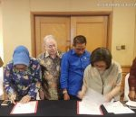 Walikota Kotamobagu dan Bupati Bolmong Teken Penyelesaian Hibah DOB di Jakarta
